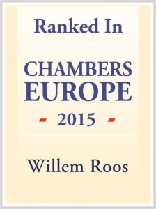 Chambers Europe 2015 - Willem